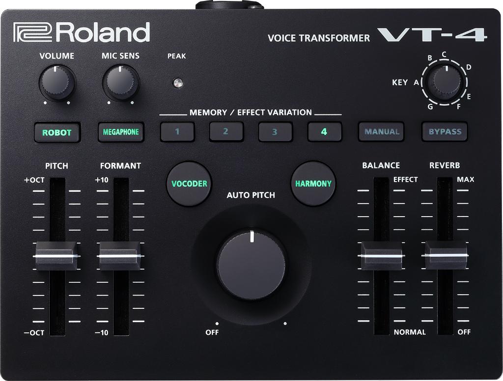 Roland VT-4 予約受付中!