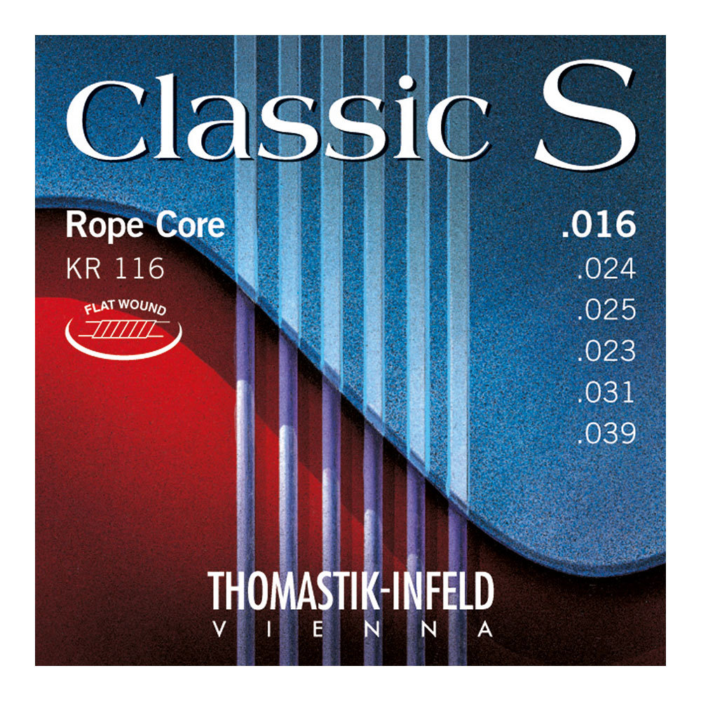 Thomastik-Infeld KR116 Classic S Series 16-39 クラシックギター弦×6セット