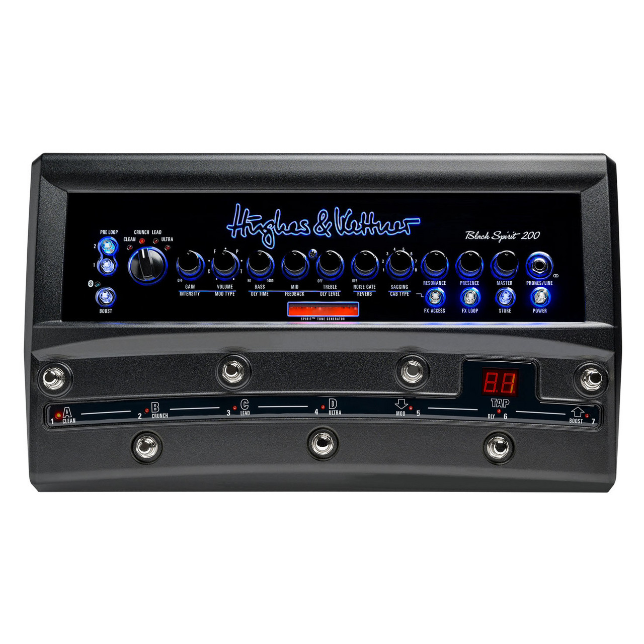 Hughes&Kettner BLACK SPIRIT 200 Floor HUK-BS200/F