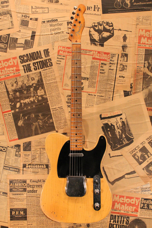 "Fender 1953 Telecaster ""Blackguard"" Out Of Greg Martin Collection"