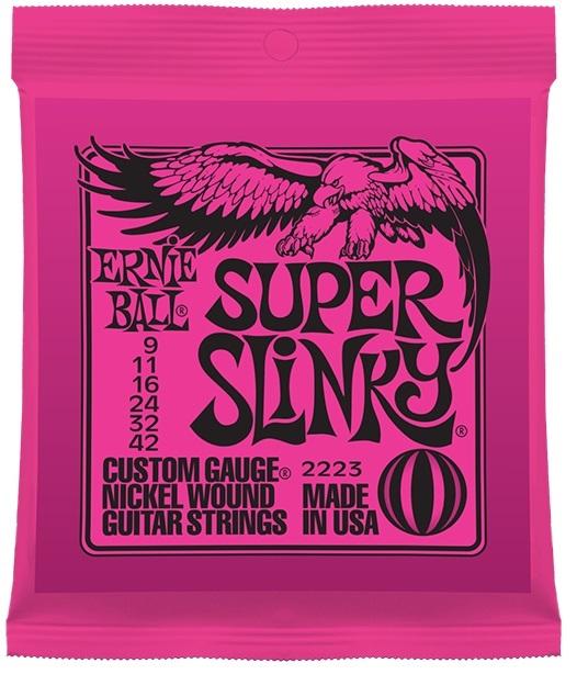 ERNIE BALL # 2223 Super Slinky