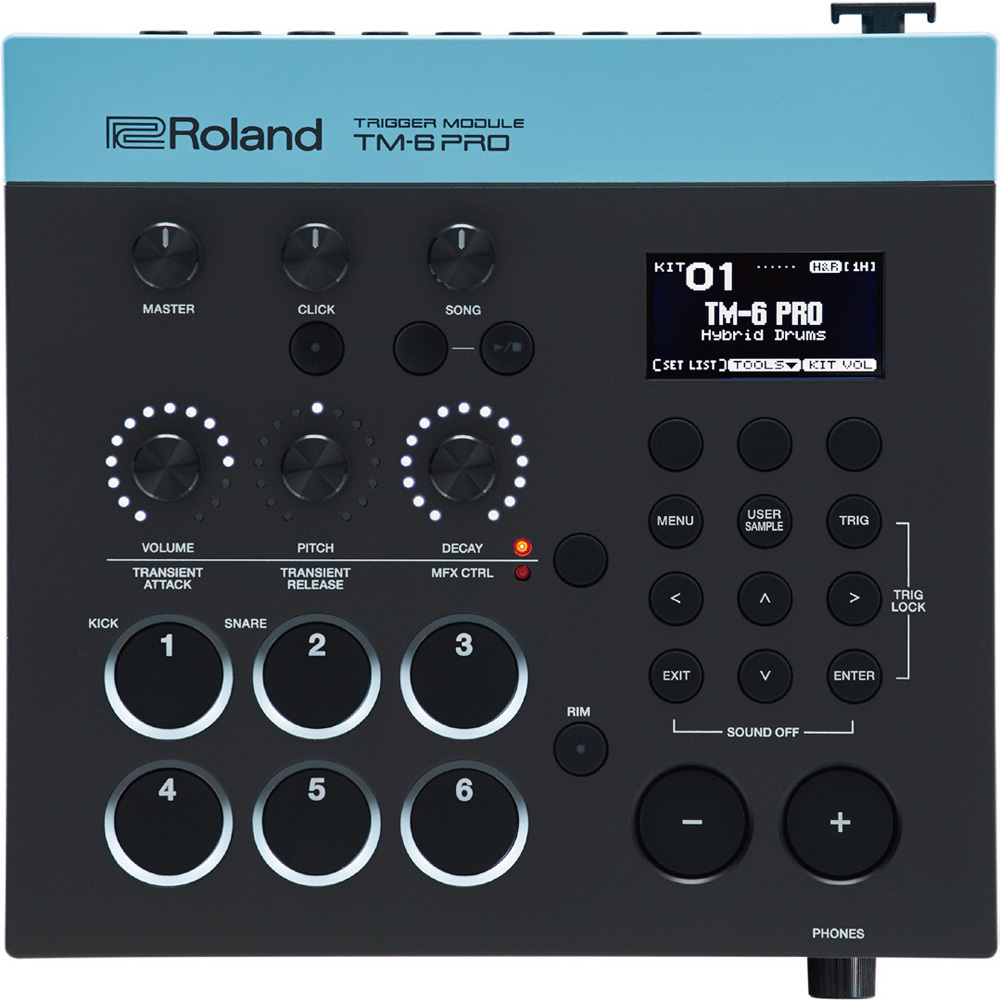 [Sound module !! to realize a hybrid drum sound] Roland TM-6 PRO [over-the-counter stock !!!!]