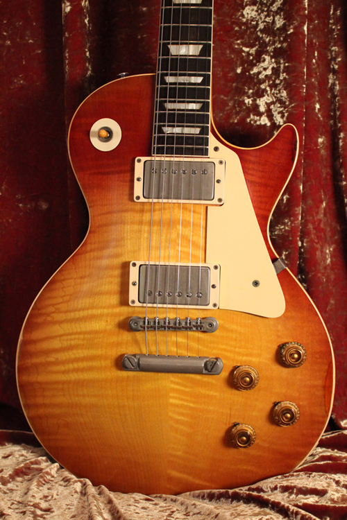 "Gibson 1958 Les Paul Standard ""Flame Top Burst"""
