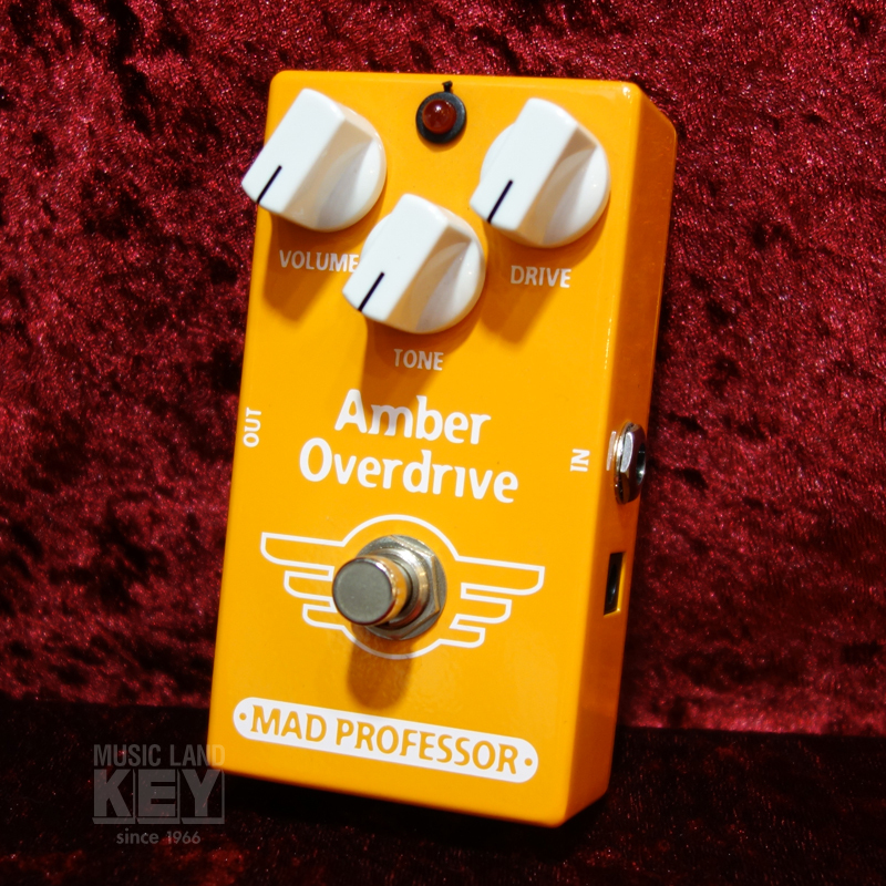 MAD PROFESSOR  New Amber Overdrive 【大特価40%OFF!! もちろん!!】