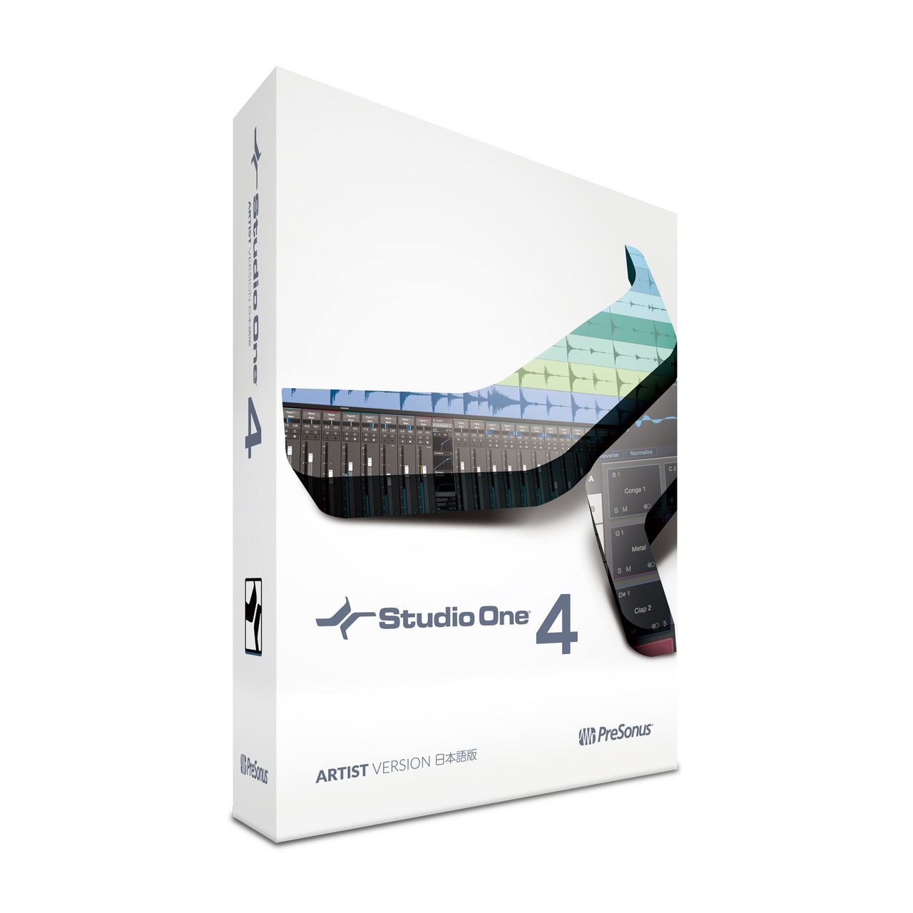 PreSonus Studio One 4 Artist Japanese version (box) [long-awaited major version up!]