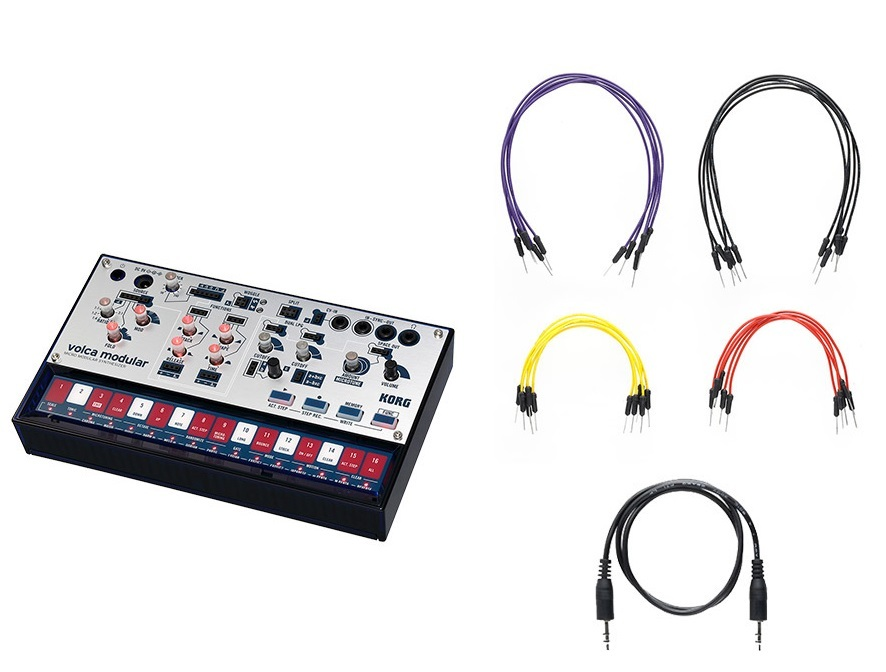 KORG volca modular modular analog synthesizer
