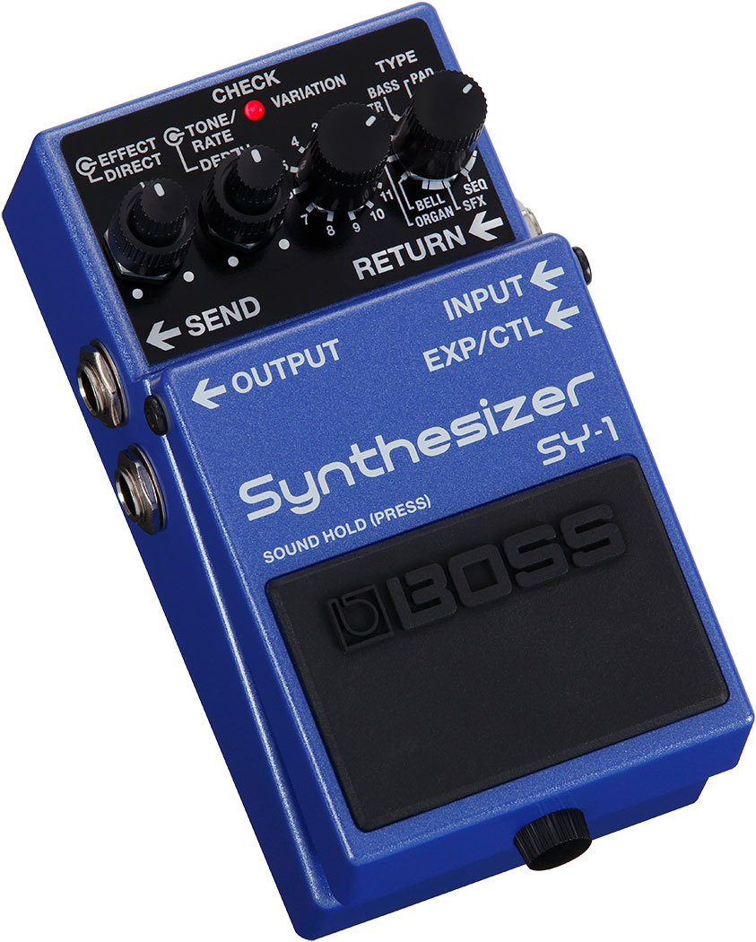 BOSS SY-1 Synthesizer 【新製品 即納できます!】【!】【ギターシンセサイザー】