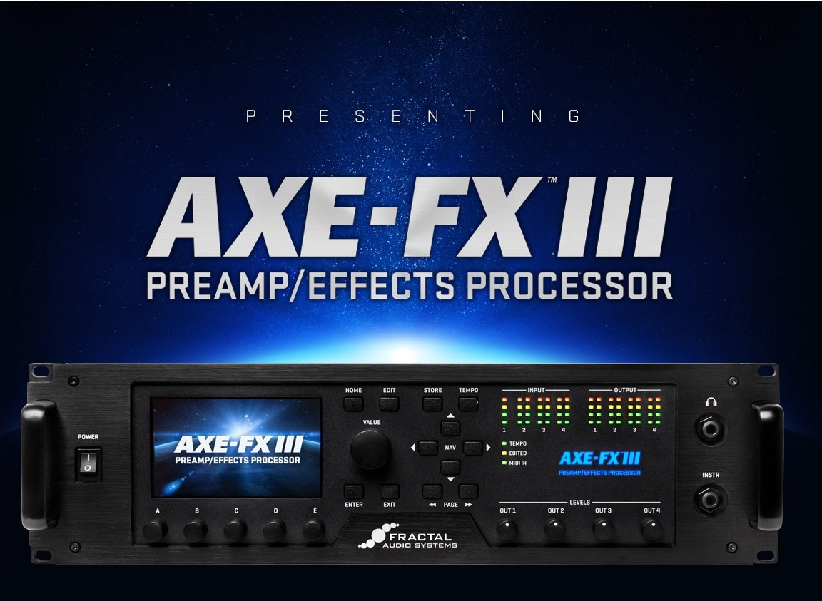 FRACTAL AUDIO SYSTEMS AXE-FX Ⅲ [available now!]