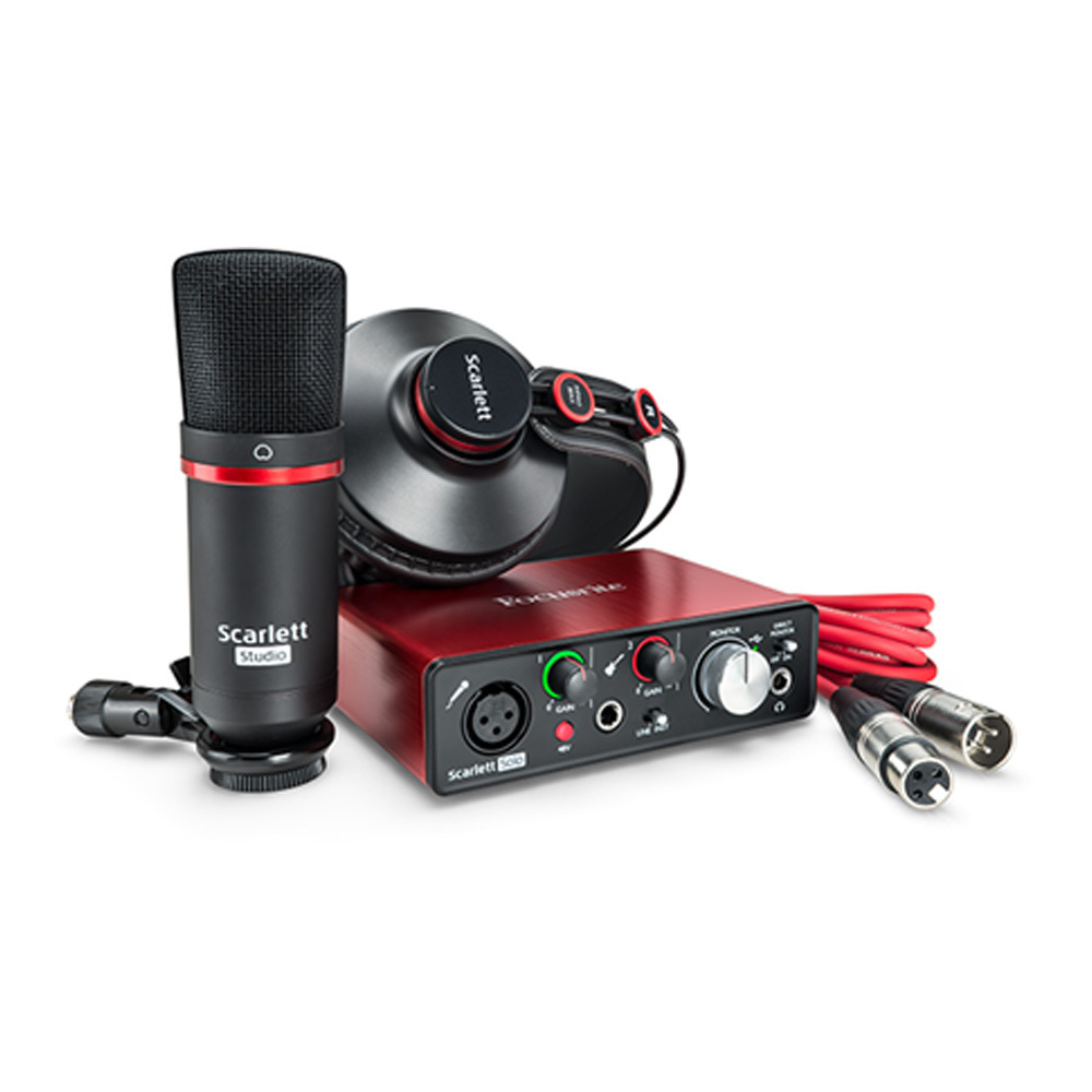 Focusrite scarlett solo studio pack G2 [possible instant delivery!] []