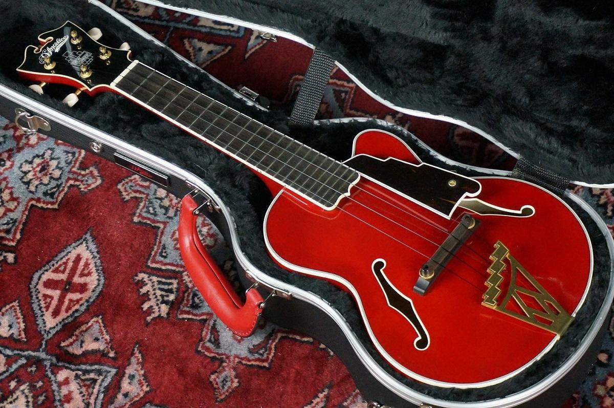 D'Angelico MU-4 RED / Soprano 【クリスマスセール!!チョイキズのため超特価にて大放出!!!!】