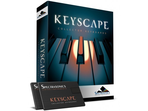 SPECTRASONICS KEYSCAPE [once the balance sheet in the KEY year great bargain! 2/28 up in all stores held!]