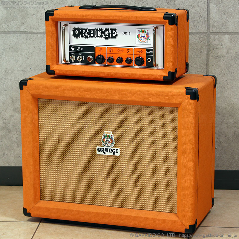ORANGE OR15H吉他功放頭與PPC412音箱一套