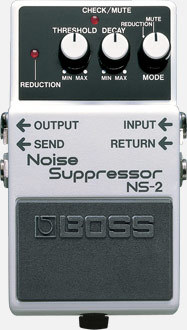 BOSS NS2 Noise Suppressor \ t noise reduction pedal [possible instant delivery]