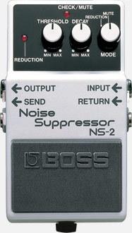 BOSS NS2噪音抑制器\吨降噪踏板[可能即时交付]