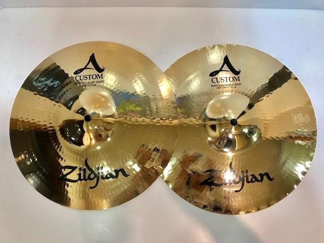"Zildjian A Custom 13"" Mastersound HHs【在庫ございます!!!】"