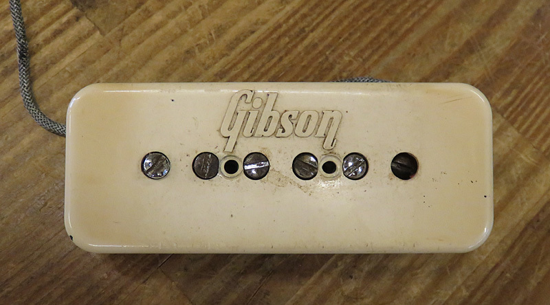 Gibson P-90 Soap bar with Enbossed cream cover