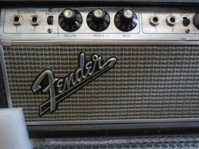 Fender 1968 BAND MASTER  with ORIGINAL CABINET SET