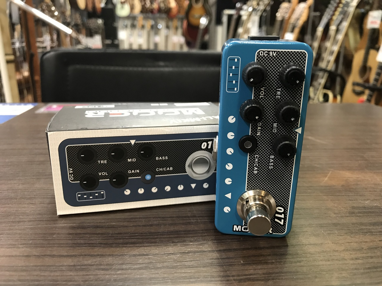 MOOER Micro Preamp 017 CALI-MKⅣ 【!】