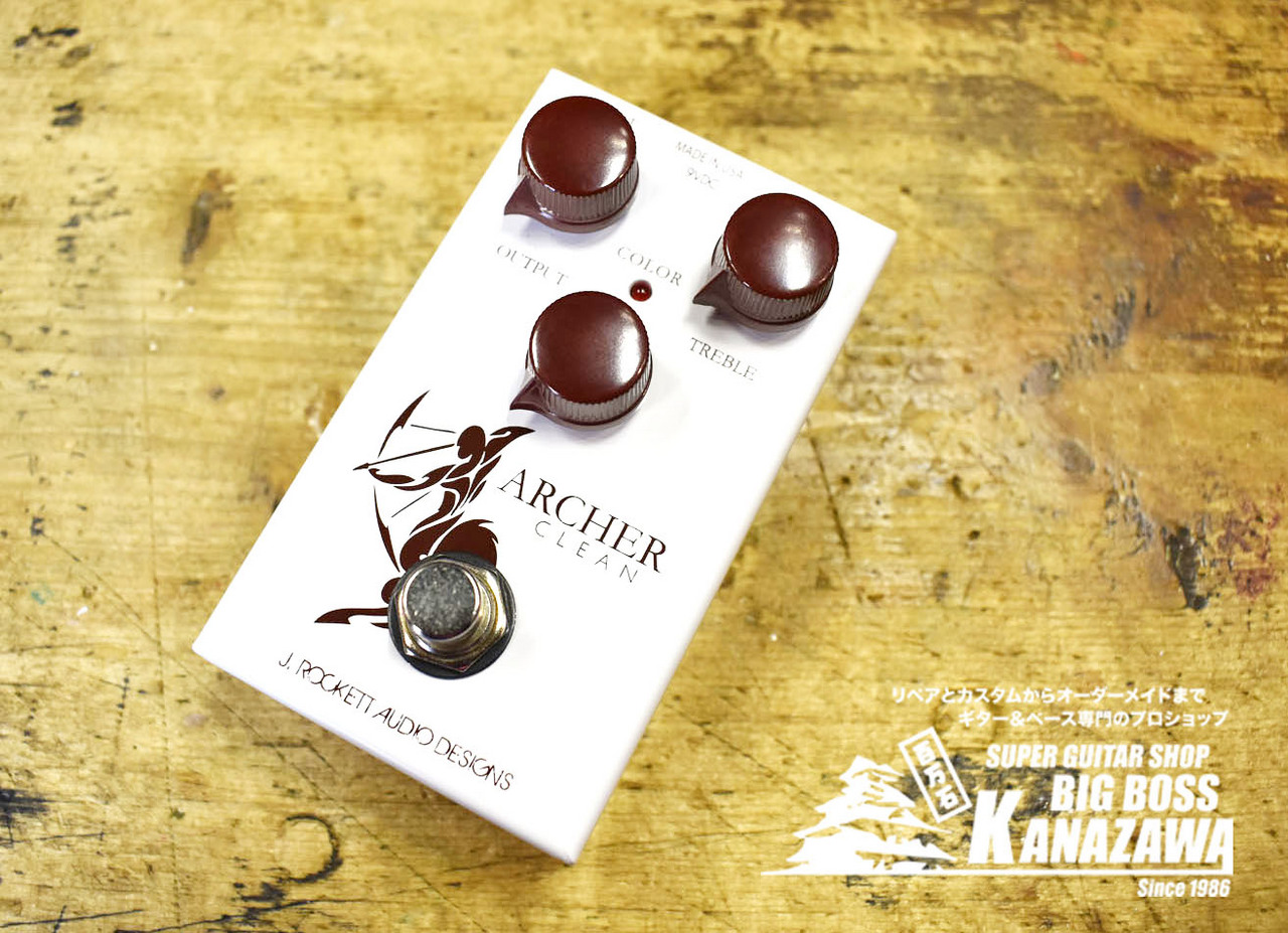 J.Rockett Audio Designs Archer Clean【ワンランク上のブースター!】