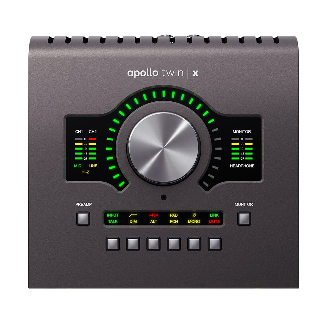 Universal Audio Apollo Twin X / Duo Thunderbolt 3 接続 オーディオインターフェイス