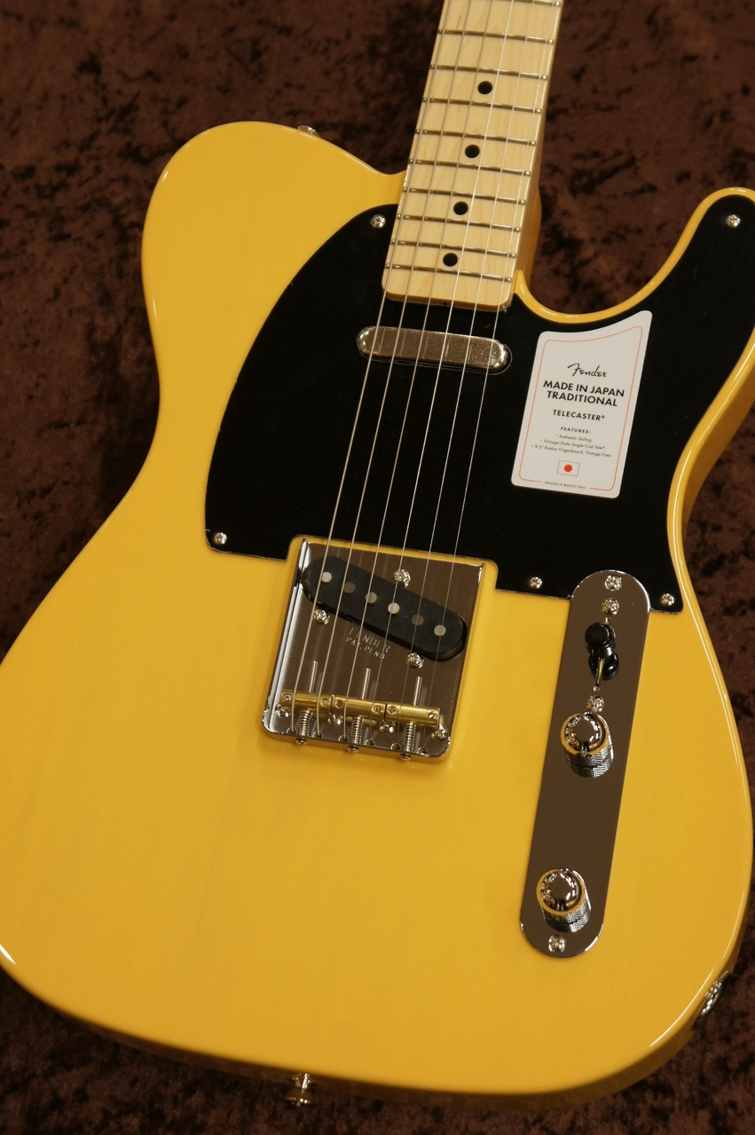 Fender Japan 【2020年モデル!!】Made in Japan Traditional 50s Telecaster -Butterscotch Blonde-