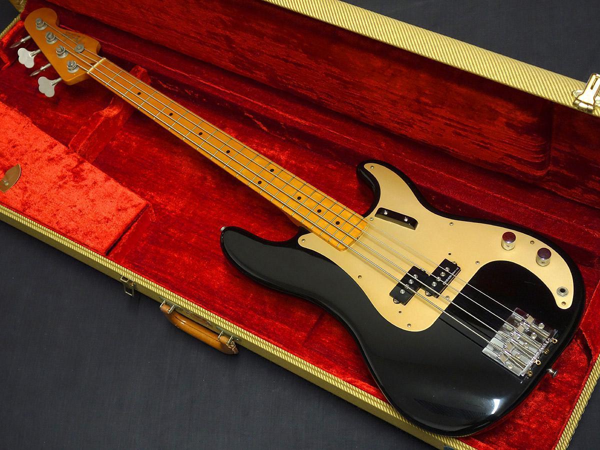 Fender American Vintage 57 Precision Bass Black [ULTRA SUMMER SALE] [Gifu shop]