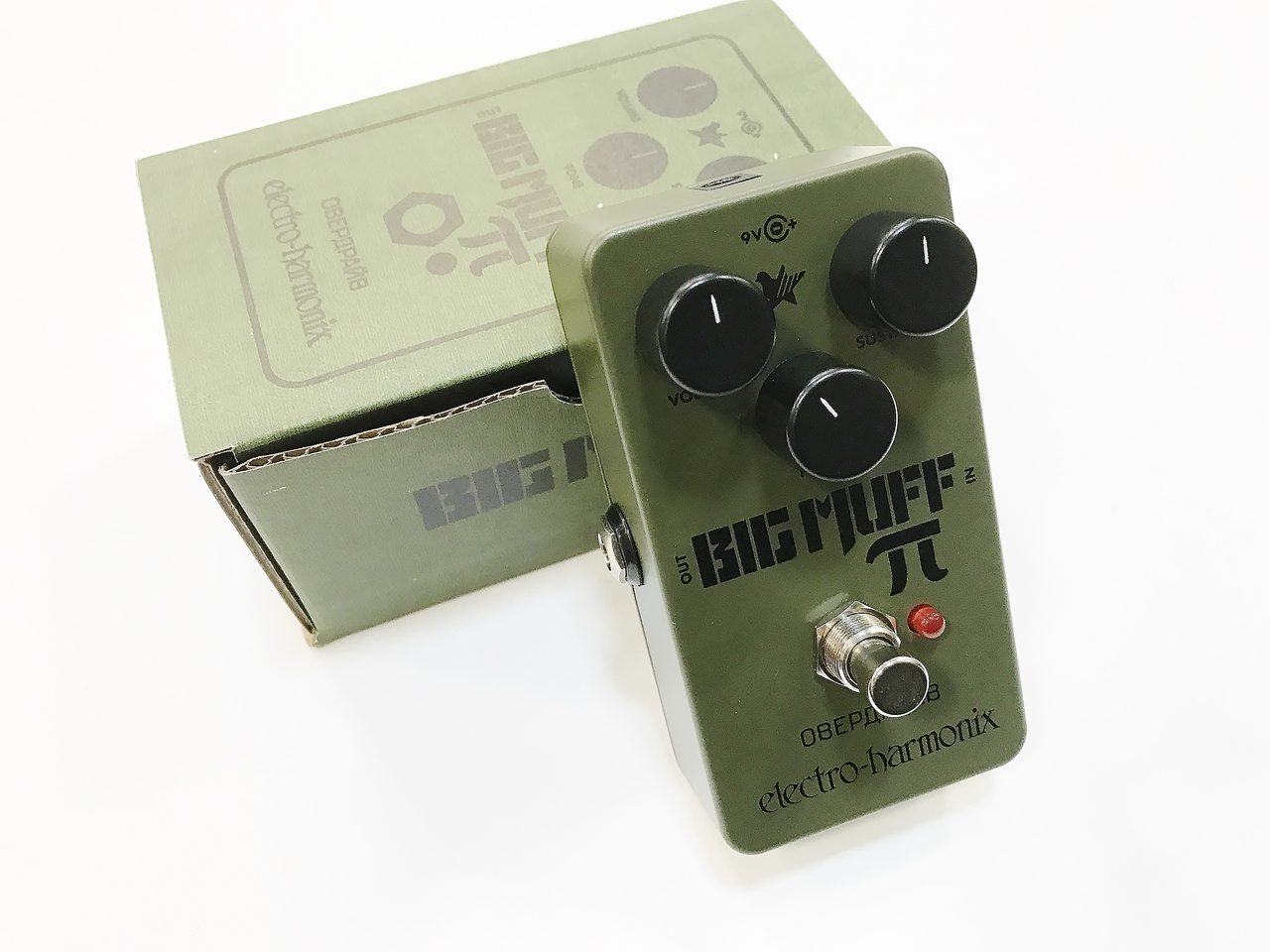Electro-Harmonix Green Russian Big Muff [fuzz] [stock!]