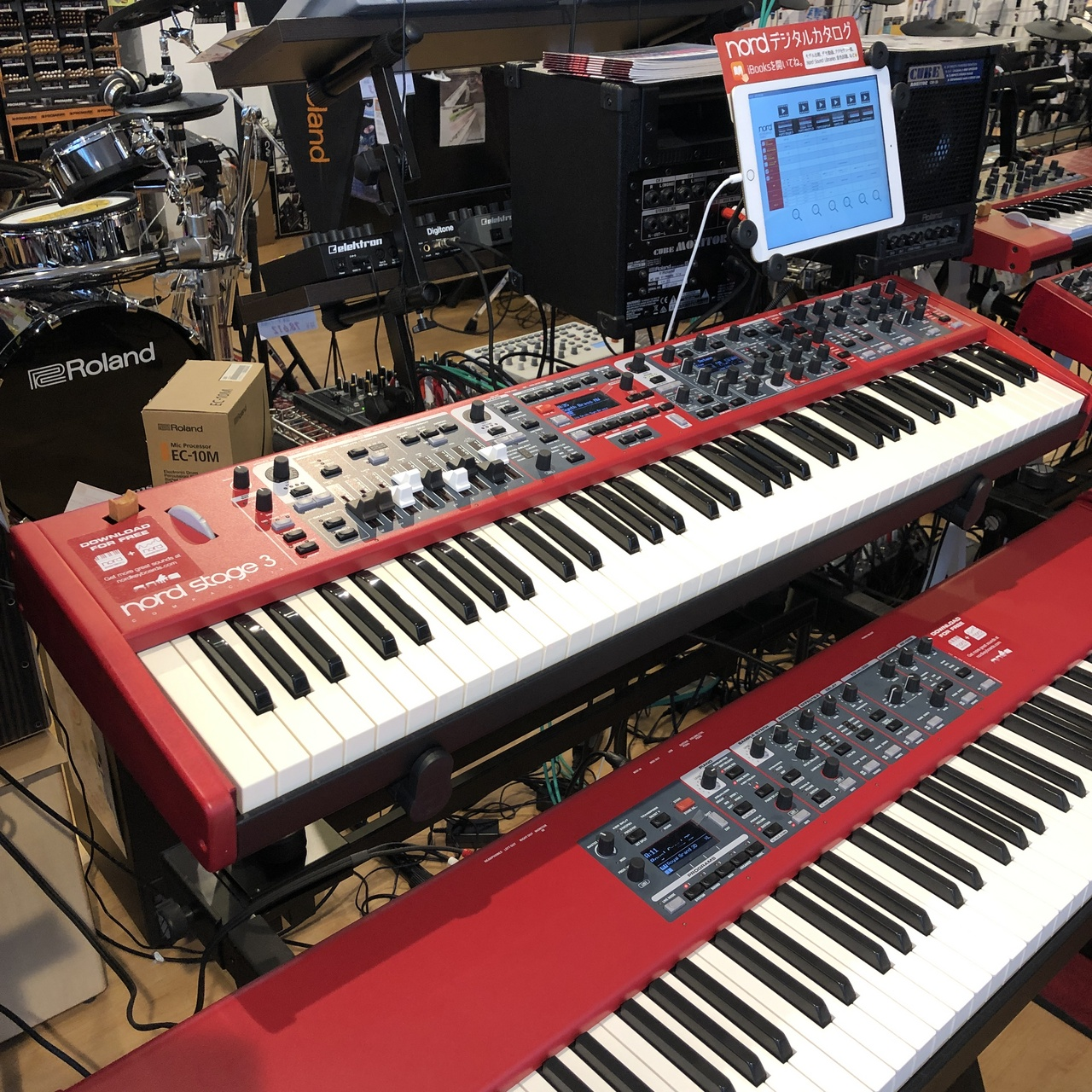 Clavia Dmi [exhibit Sale of a single limited!] Nord Stage 3 Compact []