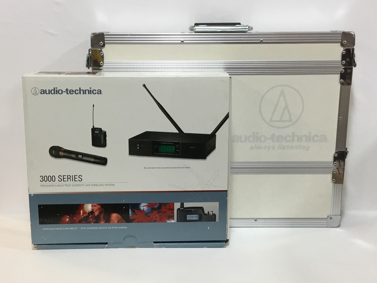 audio-technica ATW3110bj guitar wireless-only rack with case