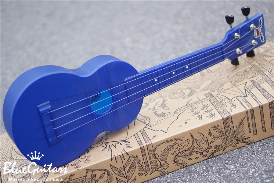 OUTDOOR UKULELE Soprano - Blue Nickel