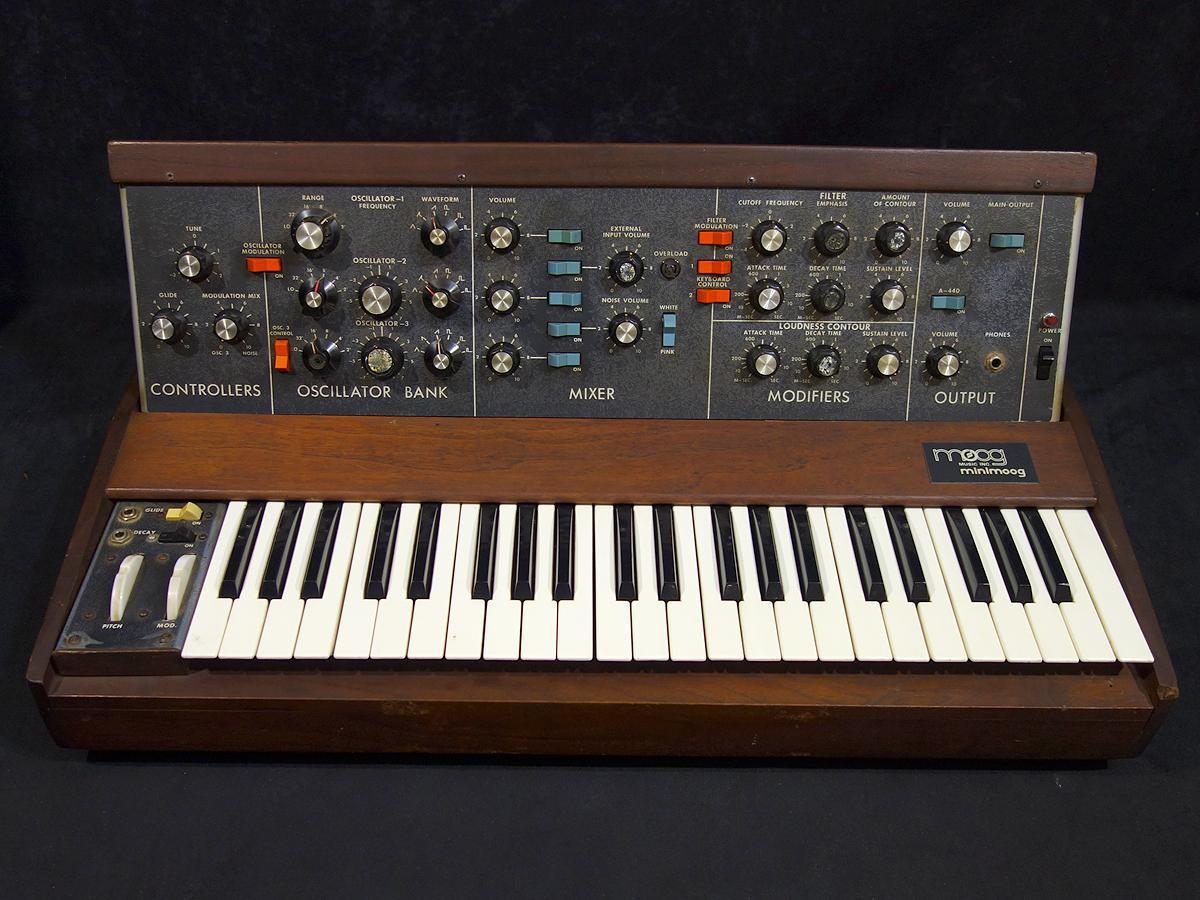 Moog Minimoog Model D Early Type