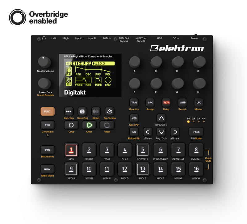 elektron Digitakt (DDS-8) [possible instant delivery] [!]