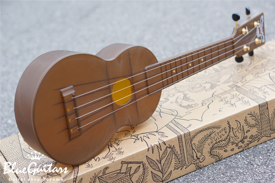 OUTDOOR UKULELE Soprano - Brown Gold