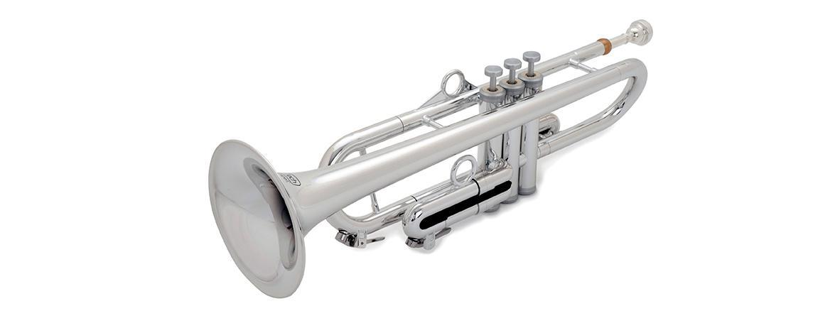 [Plastic] pInstruments pTrumpet hyTech Silver [Toyo]