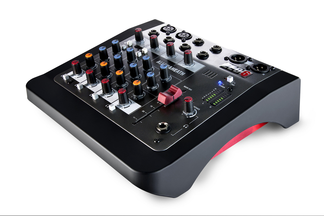 ALLEN & HEATH ZED-6 [once the balance sheet in the KEY year great bargain! All stores being held until 2/28!]