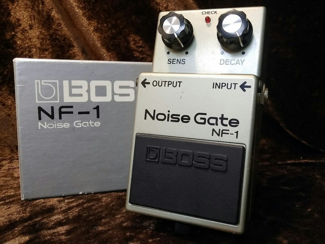 BOSS NF-1 Noise Gate ☆! 11/20 (Tuesday) until 20! ☆
