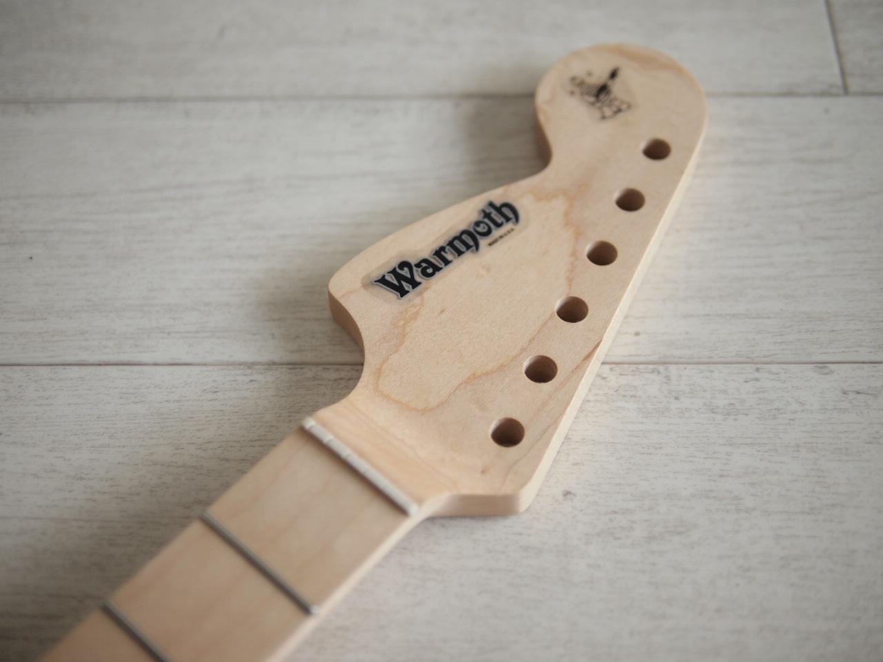 "WARMOTH CBS Stratocaster Neck ""Reverse Large"" - Maple/Maple - Modern"
