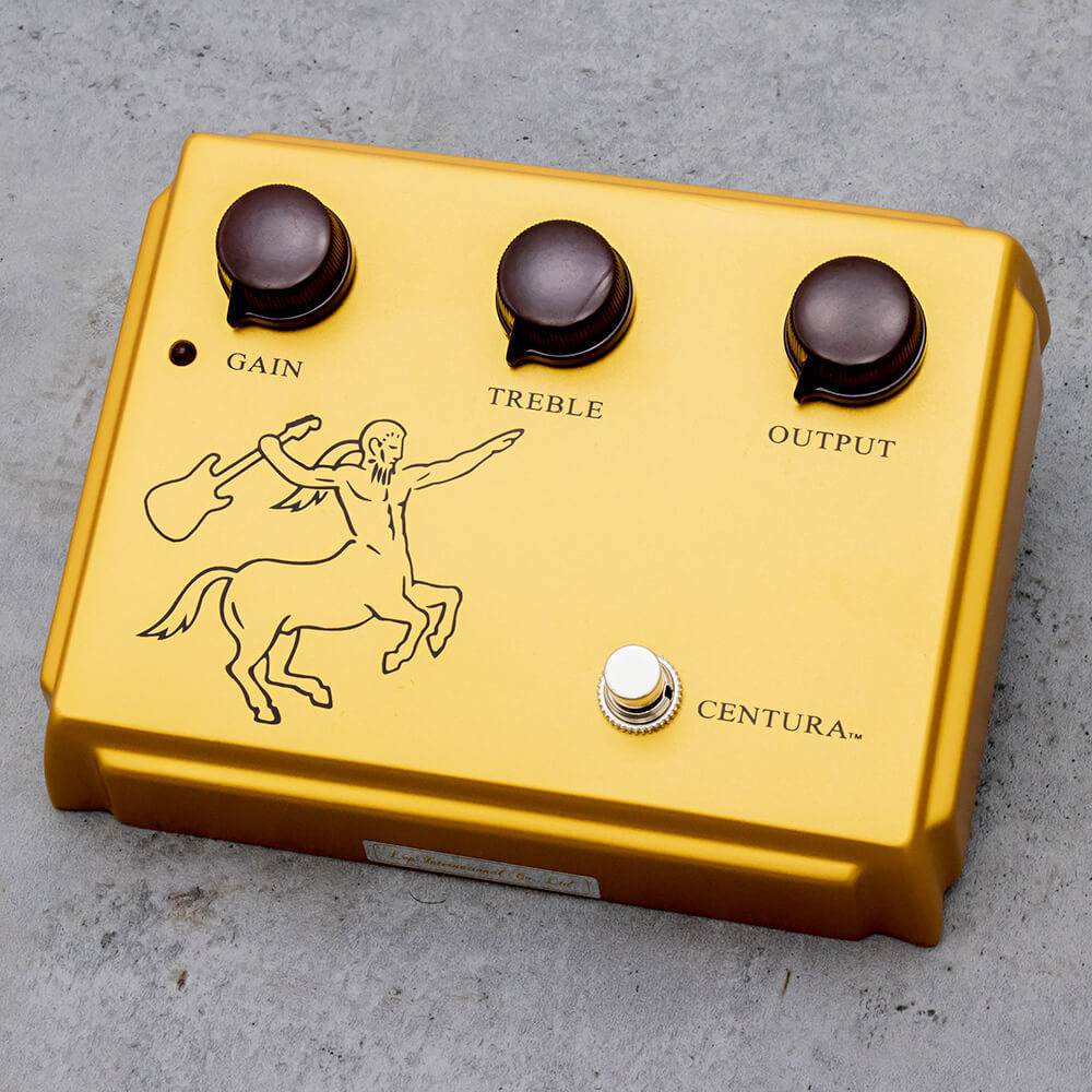 Ceriatone Centura Matte Gold - Yes picture - [long-awaited stock! One was completely reproduce the legendary pedal!]
