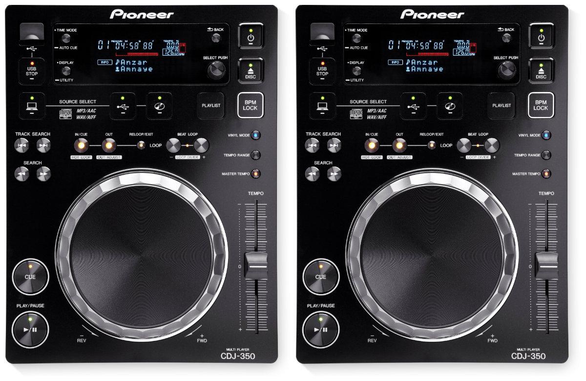 Pioneer Dj 2 units CDJ-350 ×