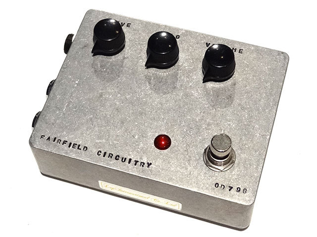 Fairfield Circuitry The Barbershop Overdrive BBOD-01