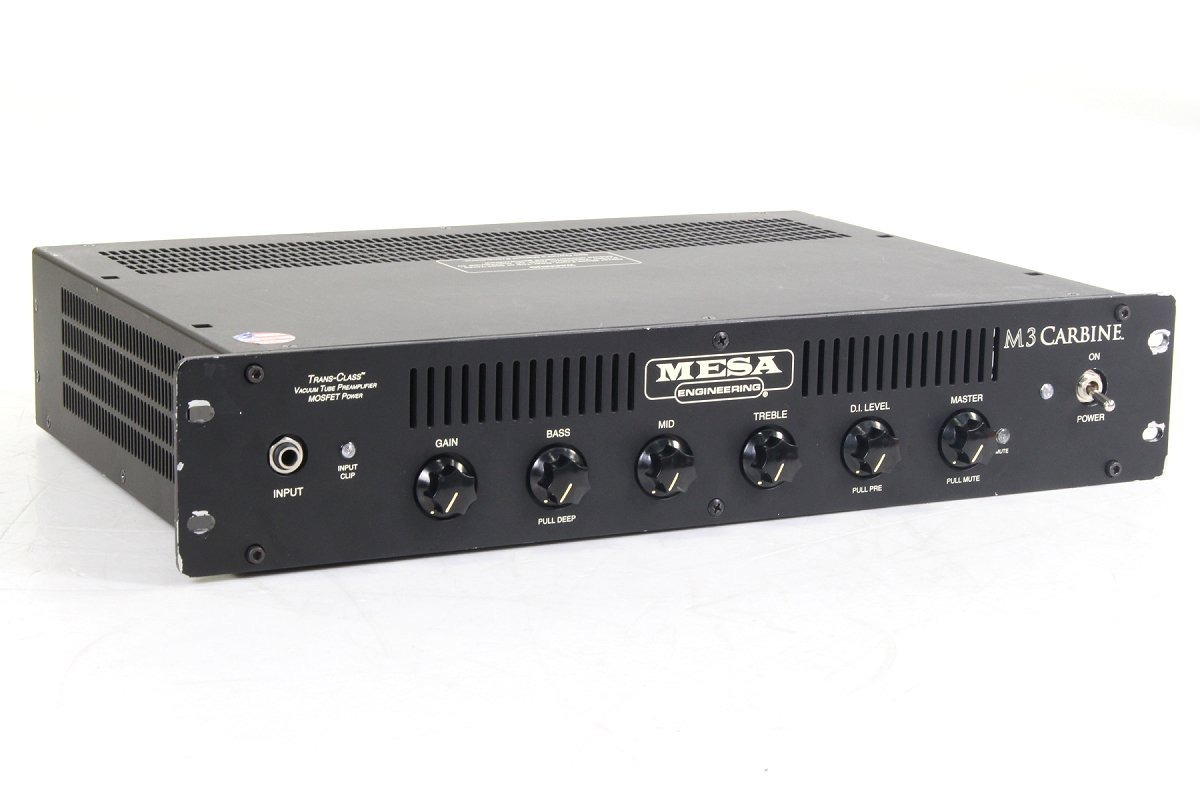 Mesa / Boogie M3 Carbine Bass Amp Rackmount base for the head amplifier inspection pre-owned instruments SALE Center]