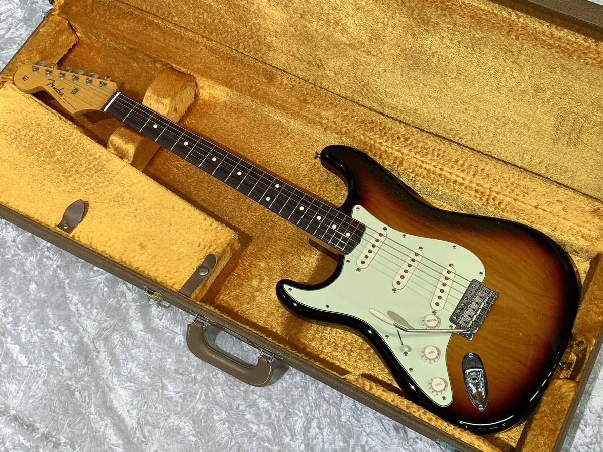 芬德美國葡萄酒62 Stratocaster的薄漆3色彩旭日左撇子[濱松店]