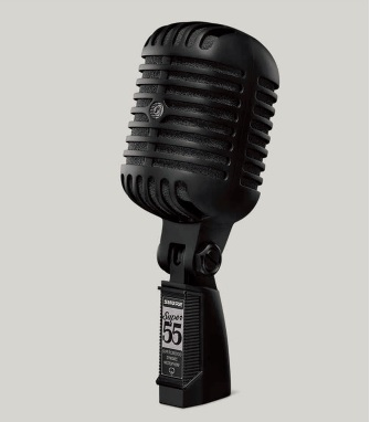 Shure Super 55 Pitch Black Edition limited production items] [new box stock] []