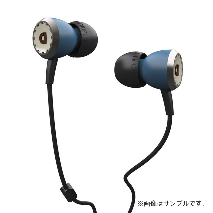 AUDIOFLY AF33M In-Ear Headphones with MIC (Kingswood Blue)