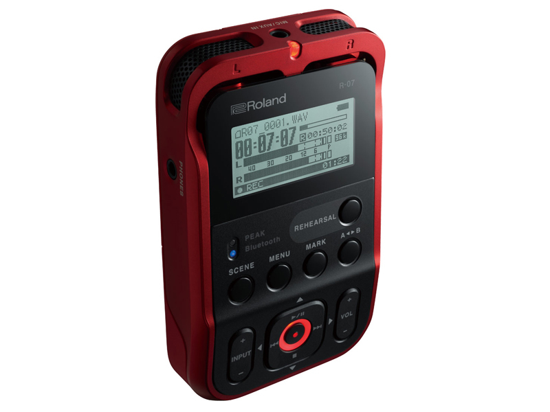 Roland Roland R-07 RD [Hi-Res corresponding Handy recorder!] [Instant delivery possible!]