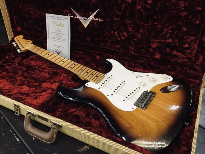 Fender Custom Shop Eric Clapton Signature Stratocaster Journeyman Relic