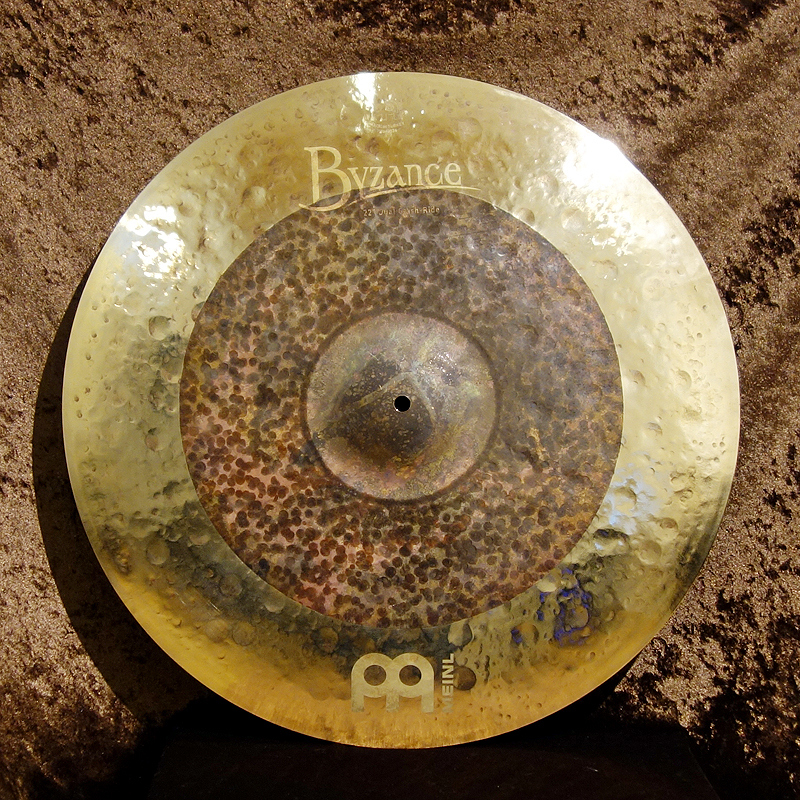 """Meinl Byzance Extra Dry Dual Crash Ride 22 """"[1 limited edition large special !! 43% OFF !! further !!]"""