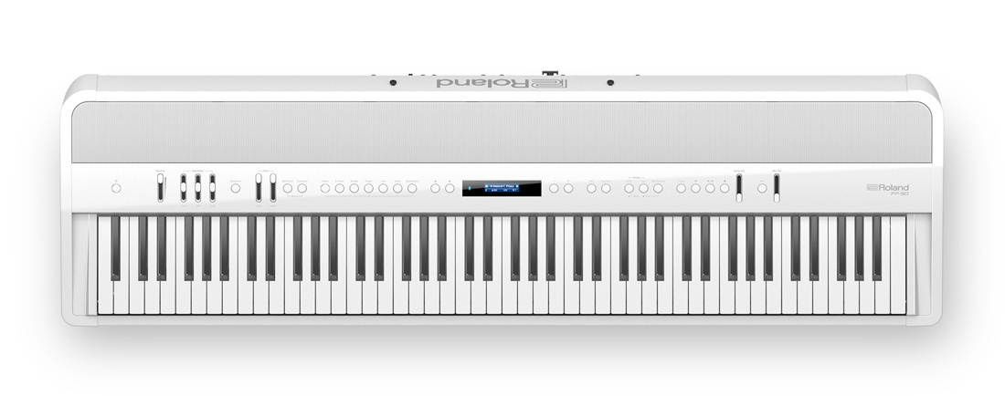 Roland FP-90 (WH, White) Digital Piano