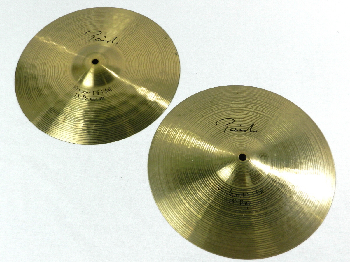 PAiSTe Signature Medium Hi-Hat 13 T+B