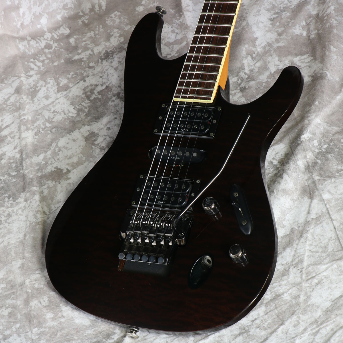 Ibanez S1540QS  Prestige Transparent Black【御茶ノ水本店】
